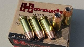 Hornady XTP .45 ACP +P 230 gr JHP AMMO TEST