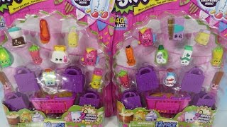 getlinkyoutube.com-Shopkins Season 2 12 & 5 Pack Opening Unboxing Toy Review