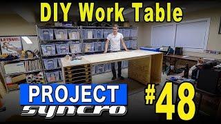 getlinkyoutube.com-New DIY Work Table - Project Syncro #48