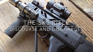 getlinkyoutube.com-SG Works Bullpup SKS: 200 yards
