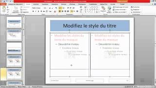 getlinkyoutube.com-Maîtriser PowerPoint - Mise en page et masques