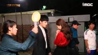 getlinkyoutube.com-[VIDEO] Jaejoong and Jinhee Kiss Scene BTS in Triangle Ep 20