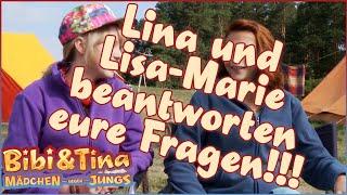 BIBI & TINA 3 - Mädchen Gegen Jungs - Lina & Lisa-Marie beantworten eure Fragen
