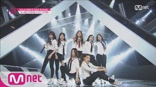 getlinkyoutube.com-[Produce 101] Having the Girl Crush! – EXO ♬Growl @Position Eval.(DANCE) EP.07 20160304