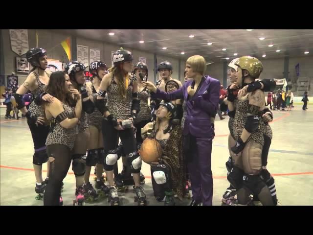 Gore Gore Roller Girls WINNERS OF THE BEAST VII