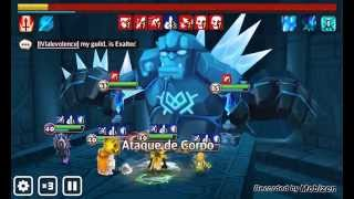 getlinkyoutube.com-Auto Giant B10 - Veromos - Ahman - Bernard - Shannon - Summoners Wars