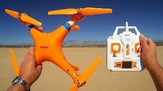 getlinkyoutube.com-Syma X8C Venture: Budget Phantom Clone Drone