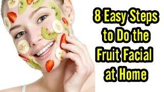 getlinkyoutube.com-8 Easy Steps to Do the Fruit Facial at Home