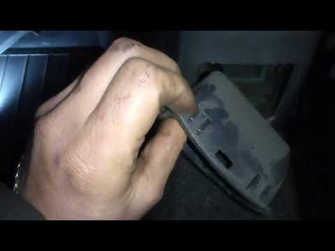 Расположение в ZAZ Пикап троса ручника