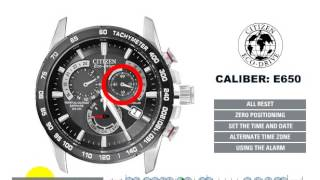 getlinkyoutube.com-Citizen Eco-Drive  AT4008-51E