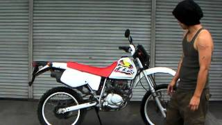 XLR125 参考動画