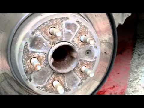 Ч.3 Замена передних и задних тормозных дисков на шевроле круз ч.3