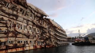 getlinkyoutube.com-Costa Concordia as it looks today (January 2014)