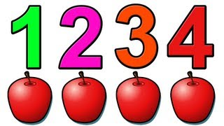 "getlinkyoutube.com-""Counting Apples"" - Education for Children and Babies, Kids Learn to Count Numbers 1234"
