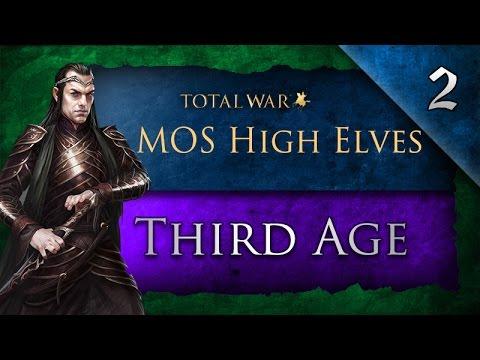 Third Age: Total War (MOS): High Elves - Ep. 2 - Goblin Town