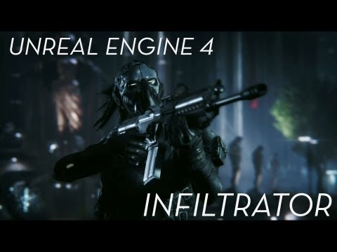 Impressive Unreal Engine 4 Graphics Demo 'Infiltrator' Leaks Early. This Is Next-Gen?