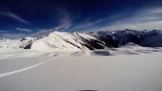 "getlinkyoutube.com-CMH Heli-Skiing Gothics 2015 ""Morning Star"""