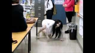 getlinkyoutube.com-The Grudge Cosplay at School