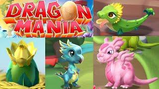 getlinkyoutube.com-Dragon Mania Legends PC Walkthrough Part 37 - Baby Sunflower Dragons + Map Progress!