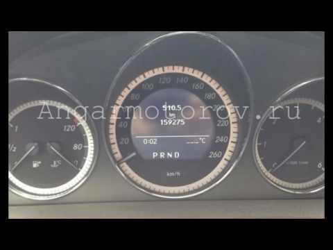 Панель приборов Mercedes W204 C-class a