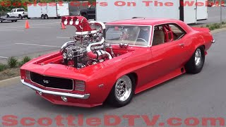getlinkyoutube.com-1969 Camaro SS Twin Turbo Supercharged Nitrous Breathing Monster