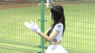 getlinkyoutube.com-台湾プロ野球 LamiGirls小帆ちゃん 林智平應援曲