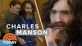 Mass Murderer Charles Manson's 1987 Interview In San Quentin Prison | TODAY width=