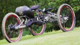 getlinkyoutube.com-The Explorer III off-road handcycle (e-bike)
