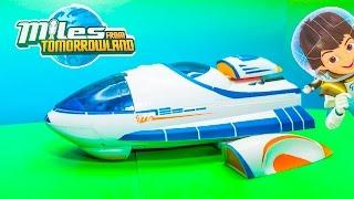 MILES FROM TOMORROWLAND Disney Miles Stellosphere a Miles From Tomorrowland Video Toy Unboxing