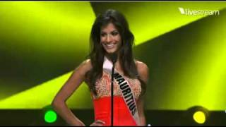 Miss Universe 2011 Preliminary Introduction