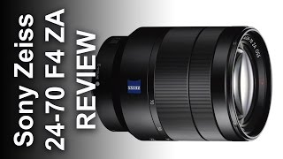 Sony 24-70 FE Zeiss Zoom Lens on the A7RII in depth Review