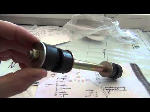 Geely MK - ремонт стойки стабилизатора.