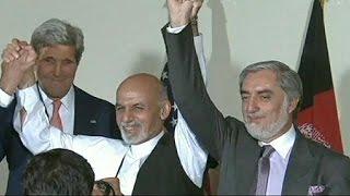 توافق نامه نهایی میان عبدالله عبدالله و اشرف غنی امضا می شود