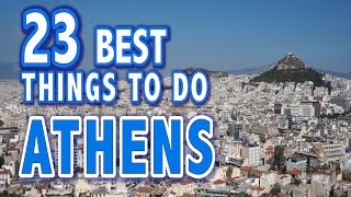 23 BEST THINGS TO DO IN ATHENS, GREECE ♥ Top Attractions of Athens