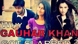 getlinkyoutube.com-Why Gauhar Khan Got Slapped   People Views  