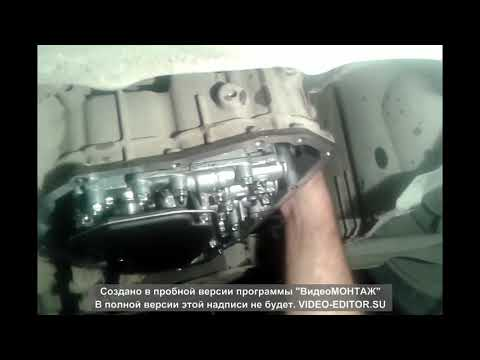 Замена масла (жижи) в вариаторе(акпп) а.м. Ниссан двиг. 1.6.