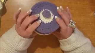getlinkyoutube.com-Tutorial uncinetto: come indurire gli oggetti all'uncinetto - scuola uncinetto