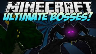 getlinkyoutube.com-Minecraft | ULTIMATE BOSSES! (Emperor Scorpion, Basilisk & more!) | Mod Showcase [1.5.2]