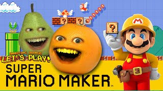 getlinkyoutube.com-Annoying Orange and Pear Plays - Super Mario Maker: THUNDERWEAR!