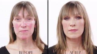 getlinkyoutube.com-Youth-Boosting, Radiant Makeup For 40+ Skin; How To Conceal Redness & Feel Great - Charlotte Tilbury