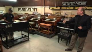 getlinkyoutube.com-Custom Road Warrior B-3 with 122 and Piano for sale! Keyboard Exchange
