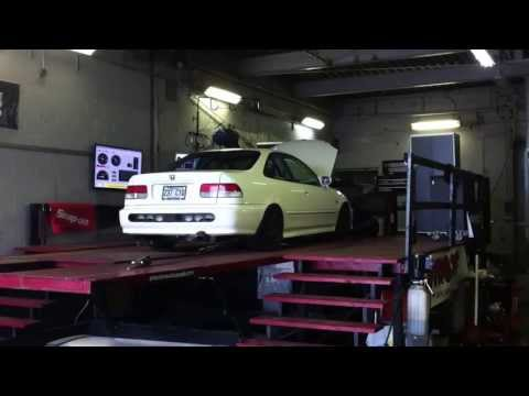 Civic K24a2 dyno SVM212 cams