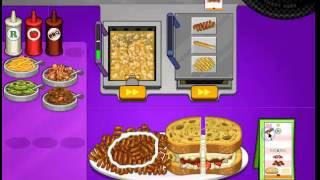 getlinkyoutube.com-Papa's Cheeseria - Portalini Feast