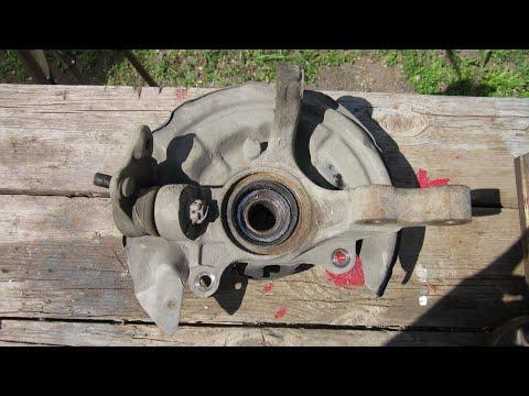 Замена подшипника ступицы TOYOTA/hub bearing replacement
