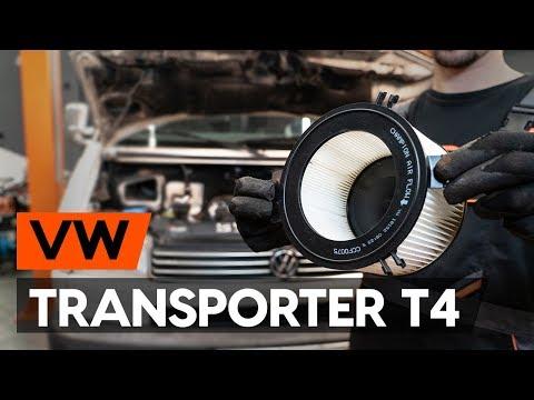 Как заменить салонный фильтр на VW TRANSPORTER 4 (T4) (ВИДЕОУРОК AUTODOC)