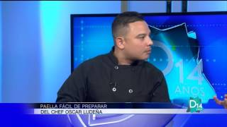 Paella fácil de preparar por el chef Oscar Ludeña