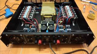 ร้อยซาวด์ เพาเวอร์แอมป์- Power Amp S1200 ชุดที่1 ( ชุดคลาสสิก ) รุ่น S1200