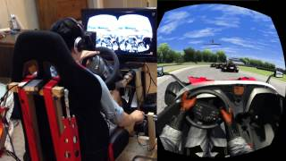 getlinkyoutube.com-(Assetto Corsa) Taking the KTM X-Bow R for a spin in the Virtual Reality Cockpit