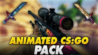 ANIMATED CS:GO TEXTURE PACK in 1.8/1.9! - Minecraft