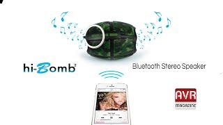 Hi Bomb 2 il diffusore dalla forma Originale e Ottimo Sound